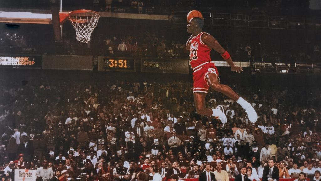 Michael Jordan Vertical Is 48 Inches An NBA Record